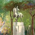 Rome Piazza Albania by Ylli Haruni