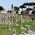 Rome Ruins by Munir Alawi
