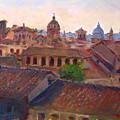 Rome Seen From Campidoglio by Ylli Haruni