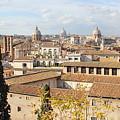 Rome Skyline by Angela Rath