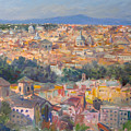 Rome View From Gianicolo by Ylli Haruni