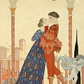Romeo And Juliette by Georges Barbier