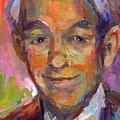 Ron Paul Art Impressionistic Painting  by Svetlana Novikova