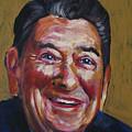 Ronald Reagan by Buffalo Bonker