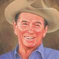 Ronald Reagan by Steven Braatz