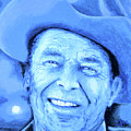 Ronald Reagan by Victor Minca