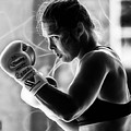 Ronda Rousey Fighter by Marvin Blaine