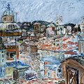 Roofs Of Rome by Joan De Bot