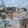 Roofs Of Rome by Joan De Bot