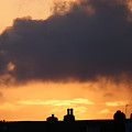Rooftop Sunset by Carol Lynch