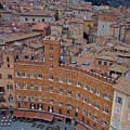 Rooftops And Cafes Of Il Campo by Debbie Fenelon