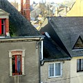 Rooftops, Chateaubriant by Jeanette Leuers