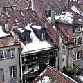 Rooftops Of Berne II by David Ritsema