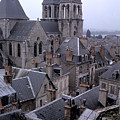 Rooftops Of Blois In France 2 by Carl Purcell