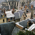Rooftops Of Blois In France 3 by Carl Purcell