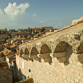 Rooftops Of Dubrovnik  by Rob Hawkins