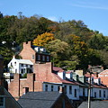 Rooftops Of Harpers Ferry by Rebecca Smith