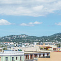 Rooftops Of Ibiza 2 by Steve Purnell