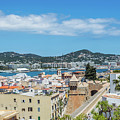 Rooftops Of Ibiza 3 by Steve Purnell