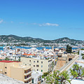 Rooftops Of Ibiza 4 by Steve Purnell