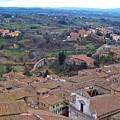 Rooftops Of Siena by Debbie Fenelon