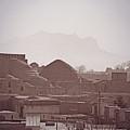 Rooftops, Yazd, Iran by Michael Ziegler