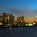 Roosevelt Island 1 New York by Ken Lerner