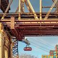 Roosevelt Tram Underneath The 59 St Bridge by Susan Candelario