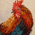 Rooster 1 by Laura Gabel