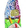 Rooster Clown by Glenda Zuckerman
