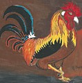 Rooster#1 by Ruben Cano