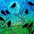 Roosting Birds by Susan DeLain