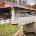 Root Rd Covered Bridge  by Jack R Perry