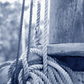 Rope And Mast by Frank Mari