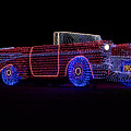 Rope Light Art 1957 Chevy by Thomas Woolworth