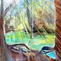 Rope Swing by Carlin Blahnik CarlinArtWatercolor