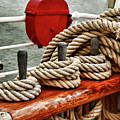 Ropes Of A Sailboat by Mihaela Pater
