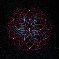Rosace - Rose Nebula by Murielle Sunier