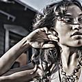Rosario Dawson by Lora Battle