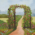 Rose Arbor by Ruth  Housley