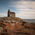 Rose Blanche Lighthouse by Linda Cullivan