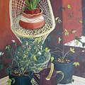 Rose Buds by Antoaneta Melnikova- Hillman