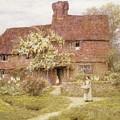 Rose Cottage by Helen Allingham