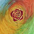 Rose In Vorteks by Tui Sada