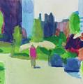 Rose Kennedy Greenway, Boston by Amy Hamlet
