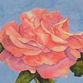 Rose Side View  by Diane Ziemski
