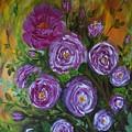 Rosebush by Tzvetanka Apostolova