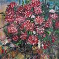 Rosebush by Vladimir Moisejevs