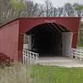 Roseman Covered Bridge - Madison County - Iowa by Teresa Wilson