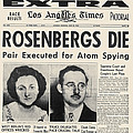 Rosenberg Execution, 1953 by Granger